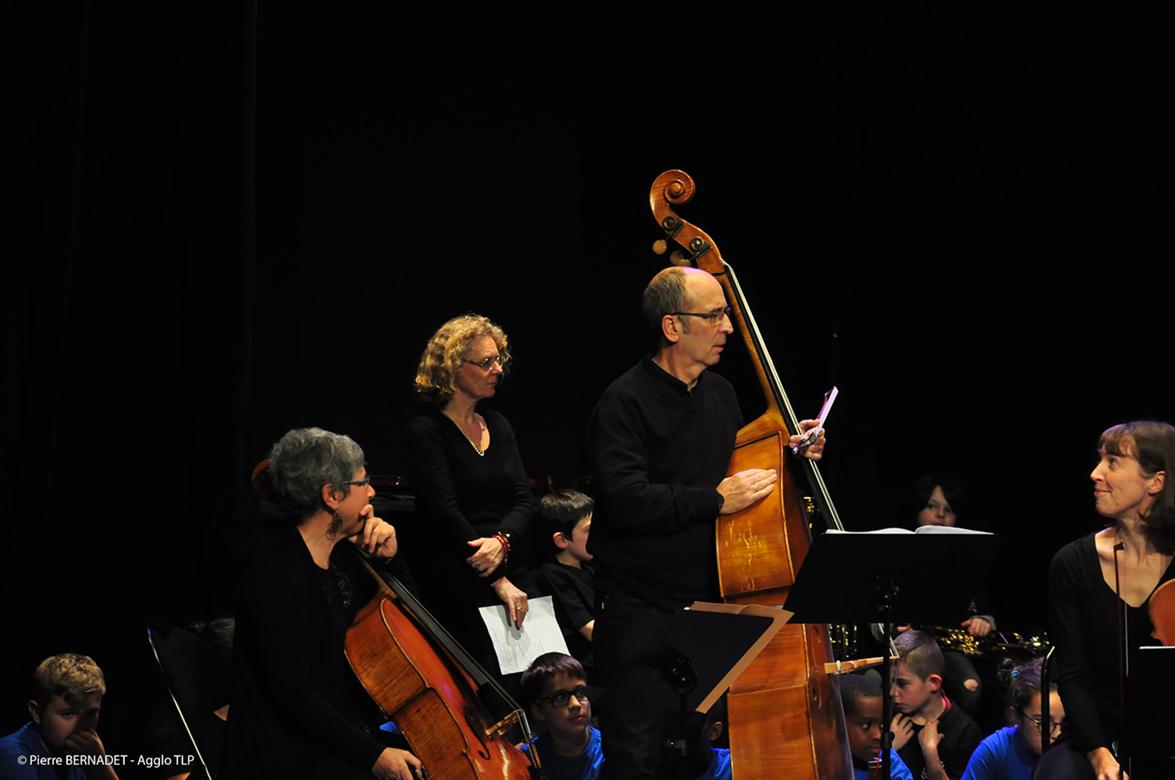 Audition des Orchestres à l'école