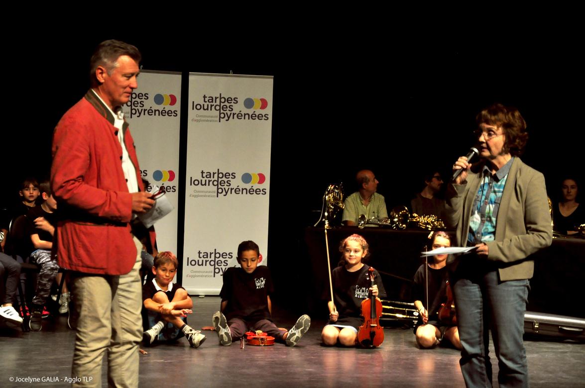 Inauguration de l'Orchestre à l'Ecole Cuivres