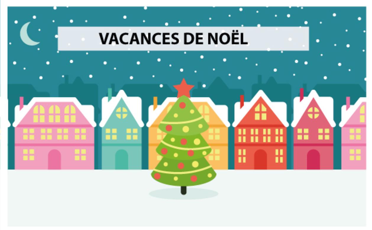 Fermeture vacances de Noël