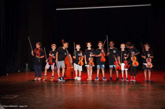 Concert de fin d'année de l'Orchestre à l'école