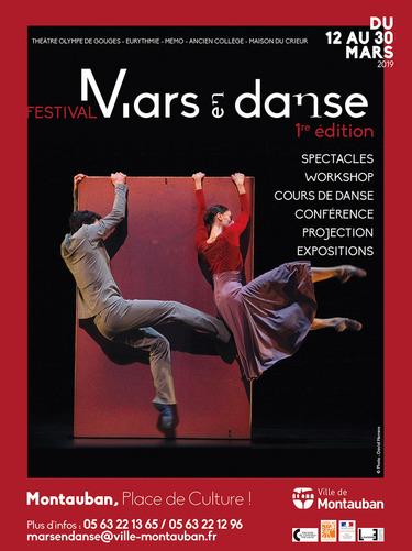 Festival Mars en danse à Montauban - 1ère Edition
