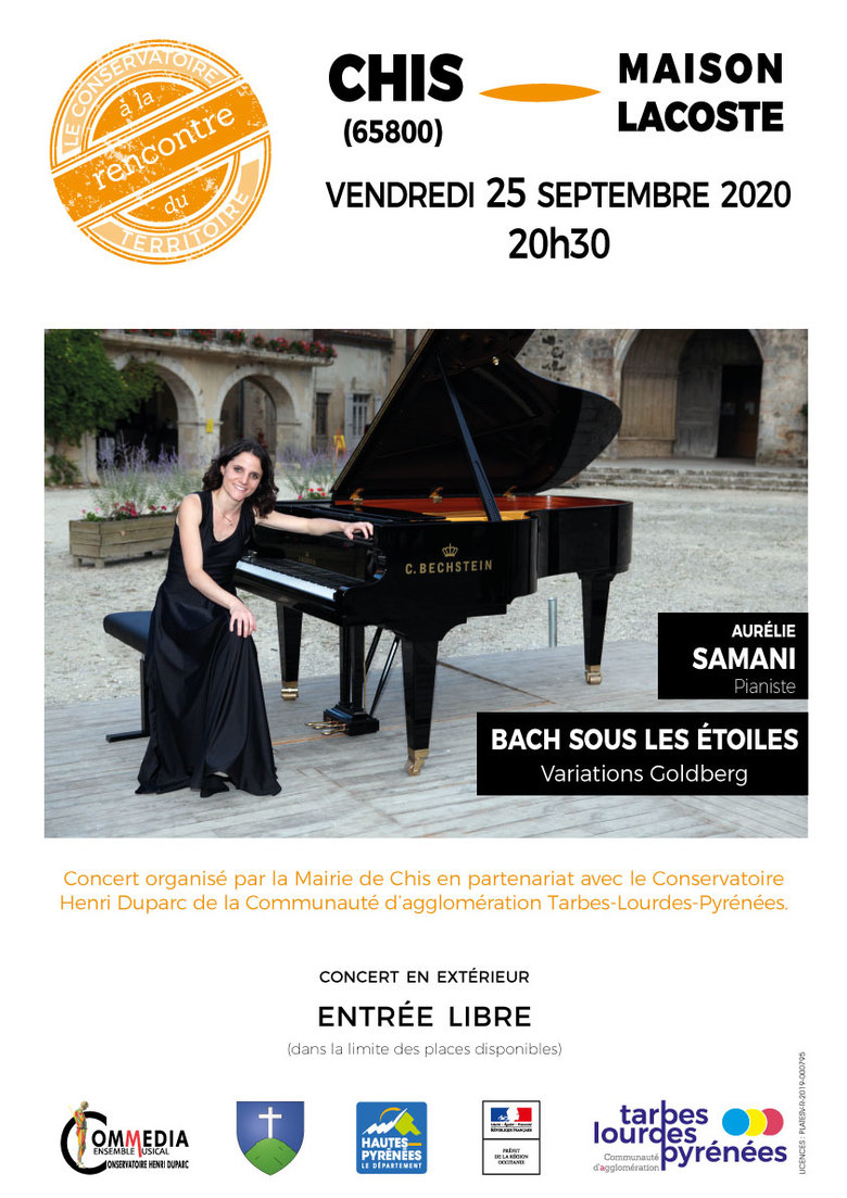 Récital piano - Aurélie Samani :