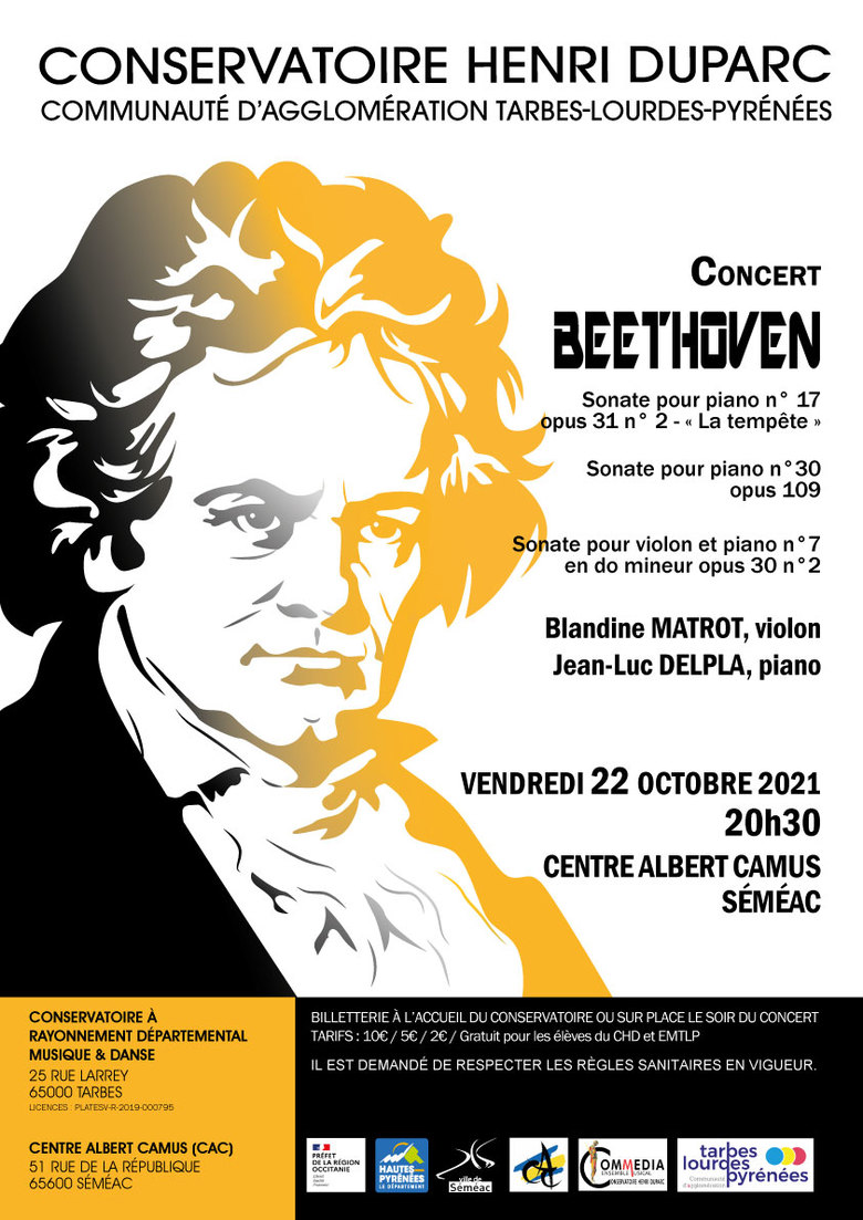 Concert Beethoven - violon et piano
