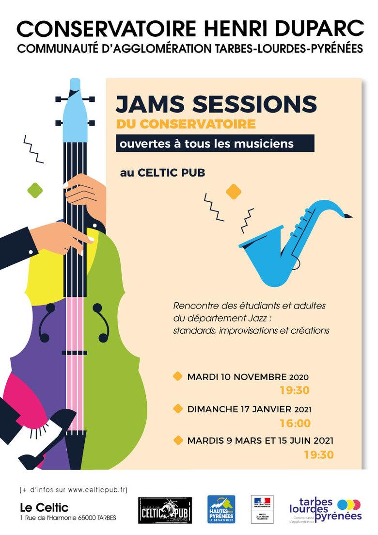 ÉVÉNEMENT ANNULÉ : Jam Session du Conservatoire