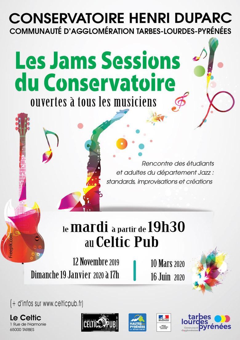 ÉVÉNEMENT ANNULÉ ; Jam Session du Conservatoire