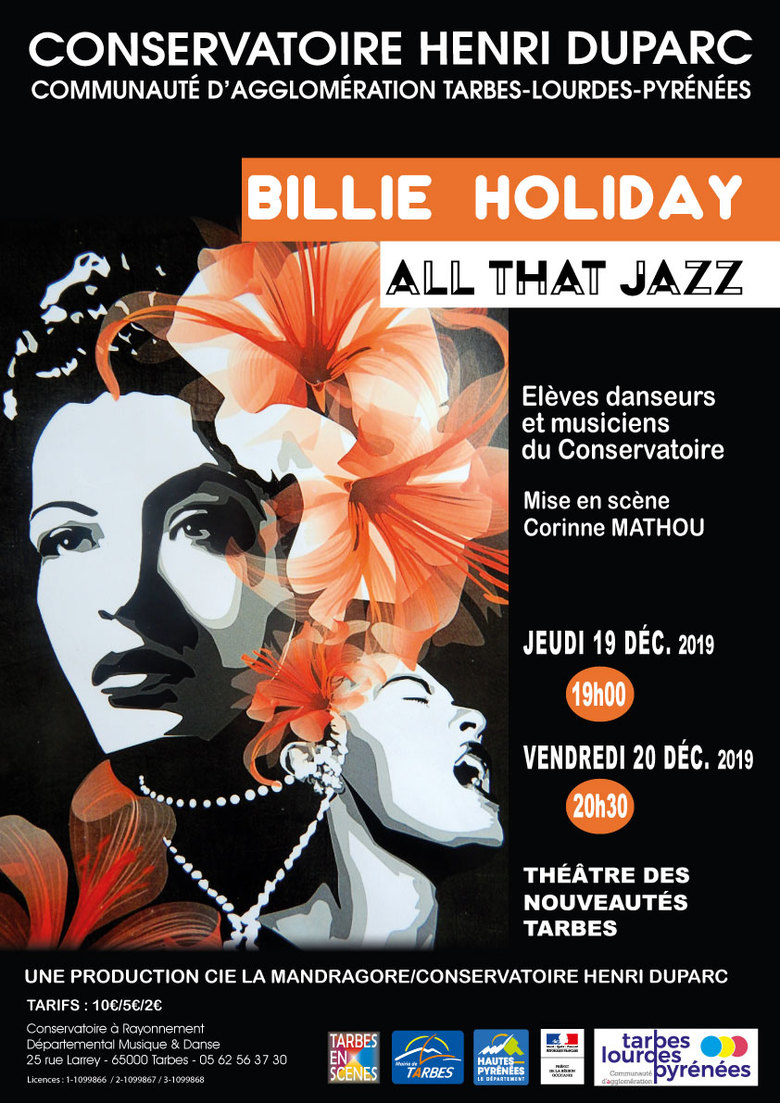 Billie Holiday. All that jazz