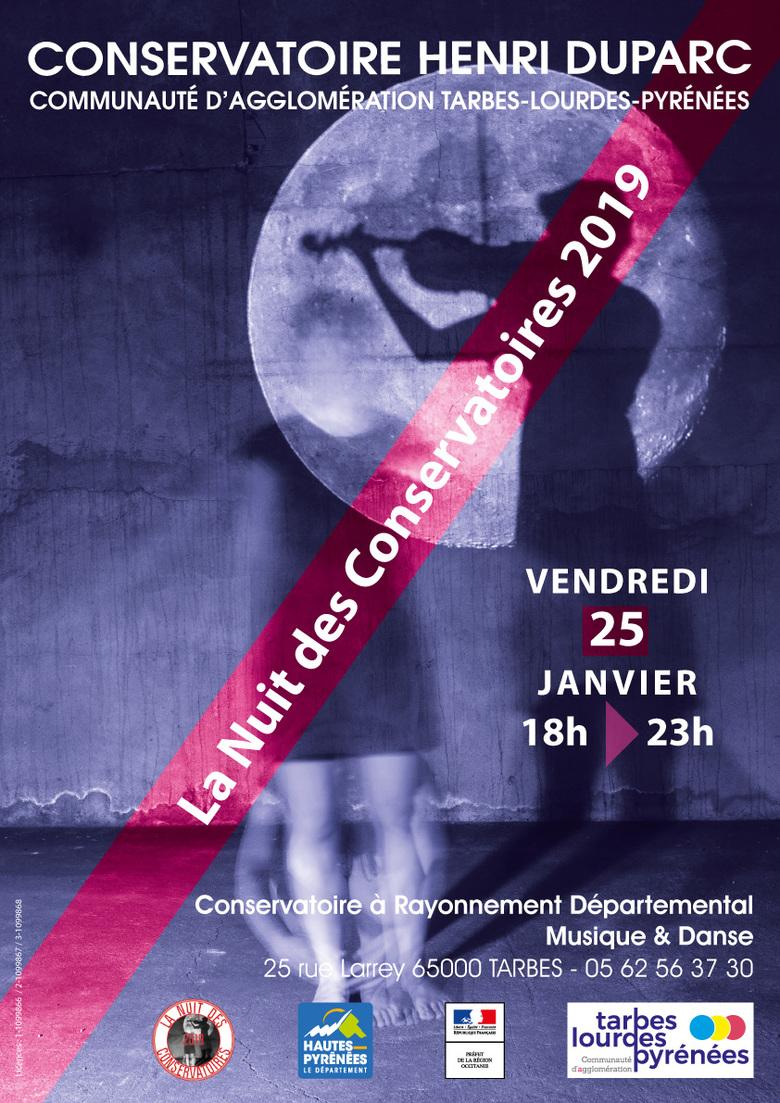 La Nuit des Conservatoires 2019