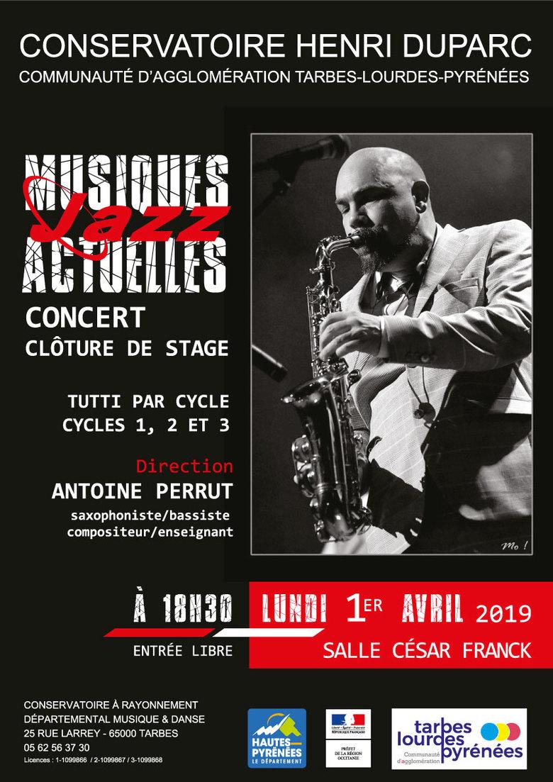 Concert  Jazz & Musiques Actuelles
