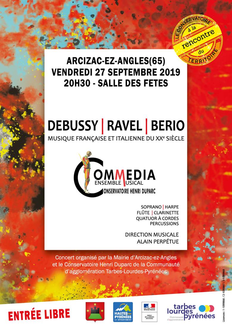Concert de l'ensemble musical Commedia