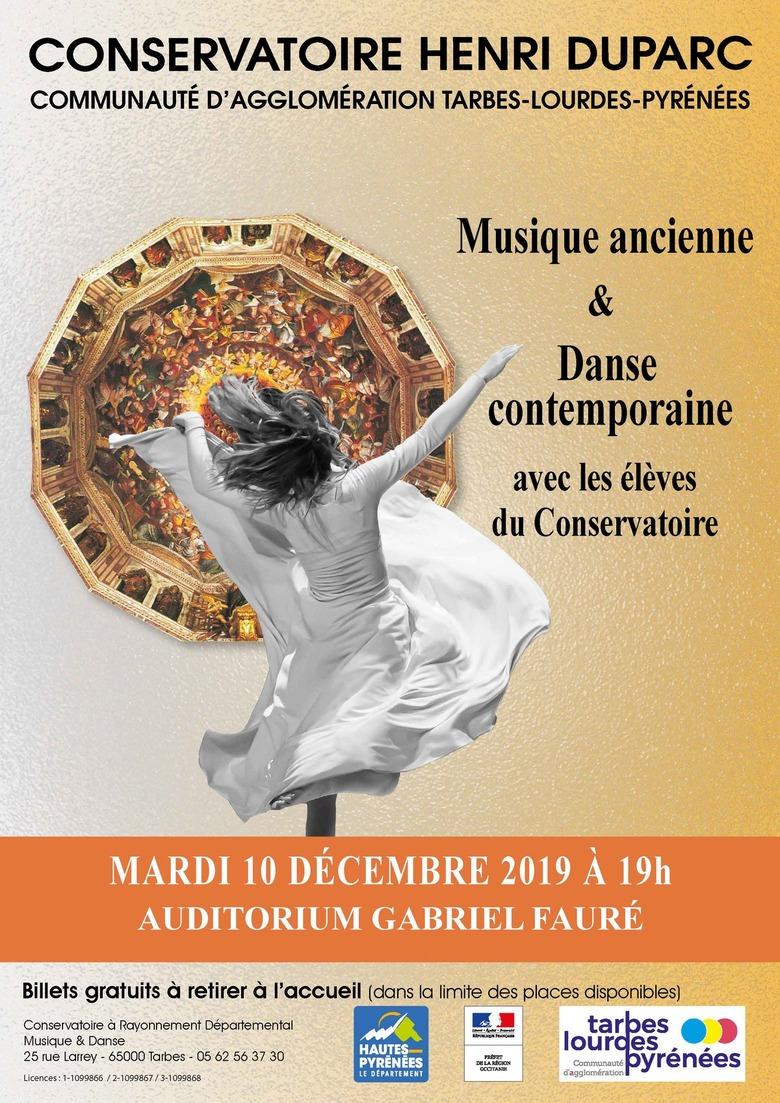 Musique ancienne et Danse Contemporaine