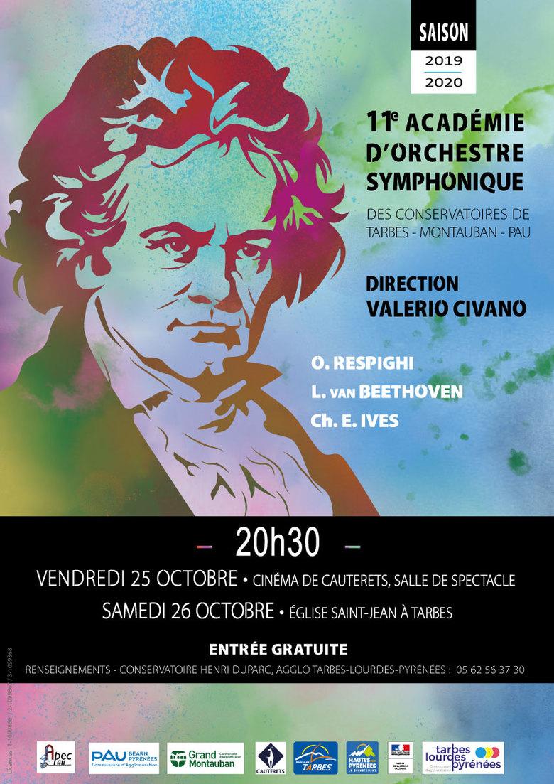 Concerts de la 11e Académie d'Orchestre Symphonique