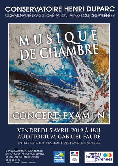 Concert-Examen de Musique de Chambre