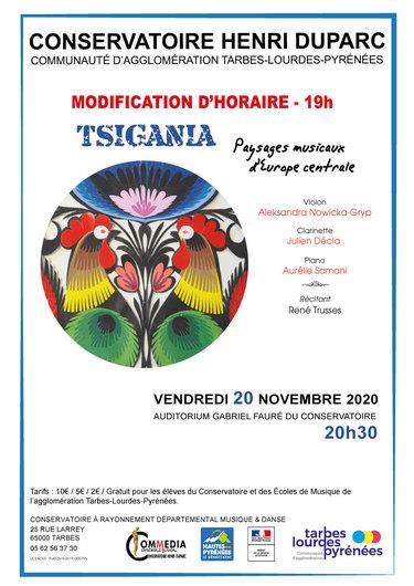 Concert Tsigania