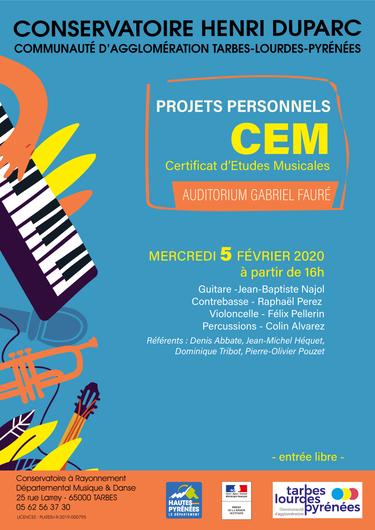 Projets Personnels CEM