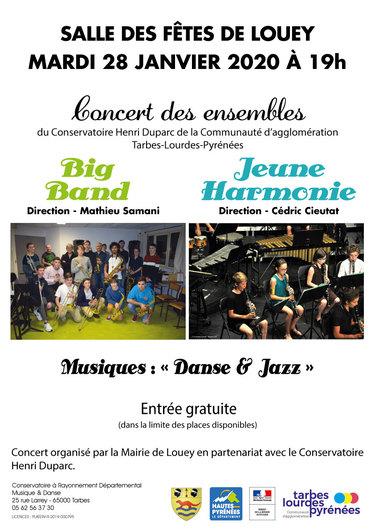 Concert Jeune Harmonie et Big Band