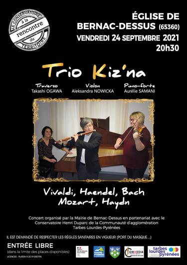 Concert du Trio Kiz'na