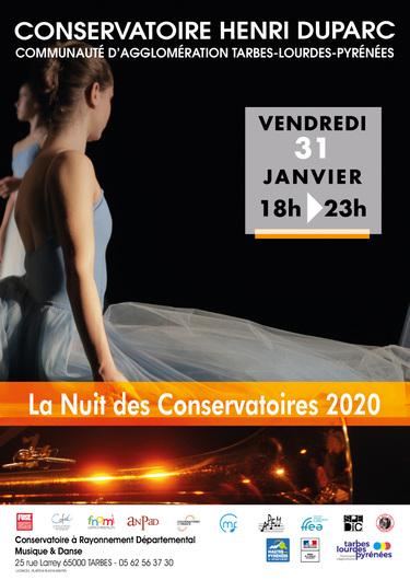 La Nuit des Conservatoires 2020