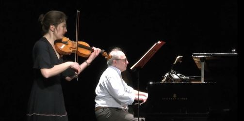 Sonate pour violon et piano n° 7 en do mineur op. 30 n° 2 de Beethoven