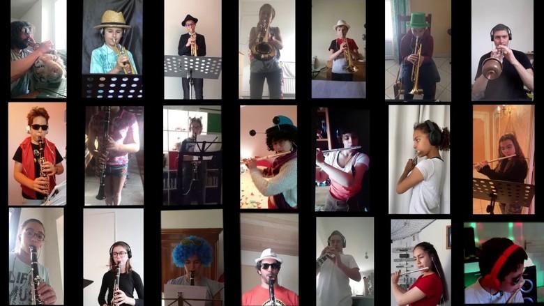 Confinement en musique - Conservatoire Henri Duparc